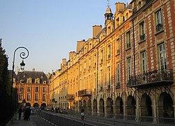 Place des Vosges vista 3.