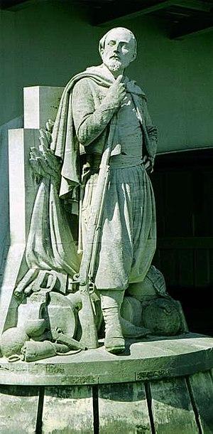 Pont de l'Alma - The Zouave statue