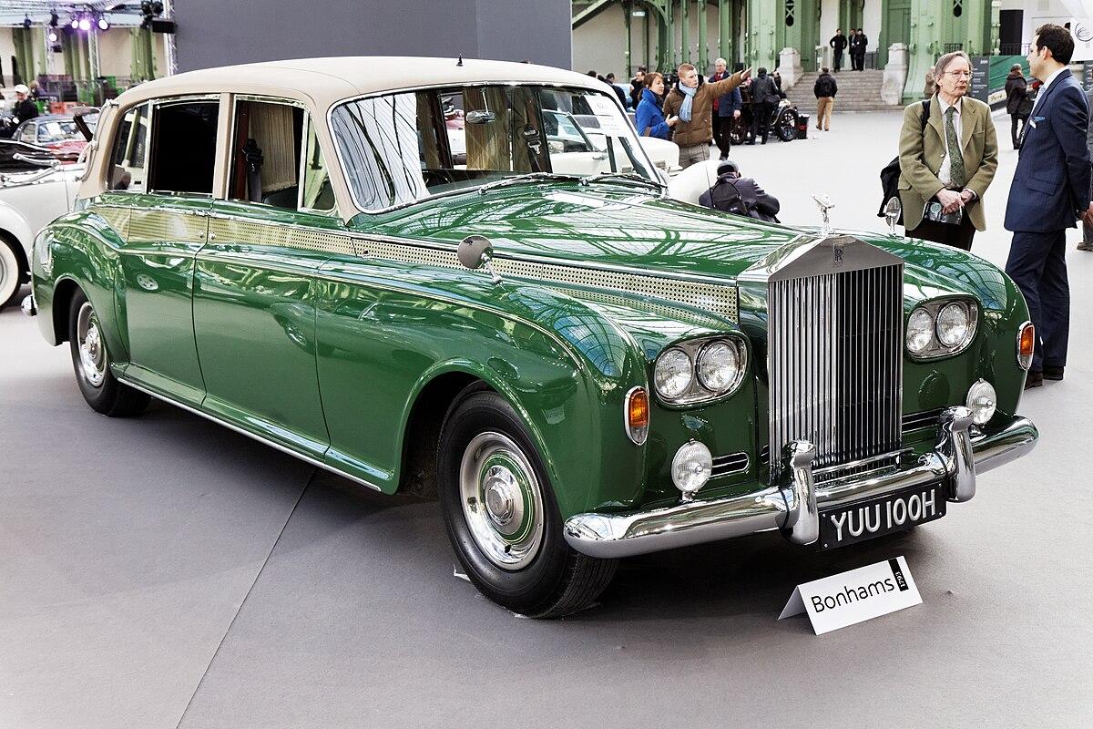 Rolls Royce Phantom >> Rolls-Royce Phantom VI — Вікіпедія