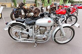 Mondial (motorcycle manufacturer) - Image: Paris Bonhams 2016 FB Mondial 125 cm 3 sport 1949 001