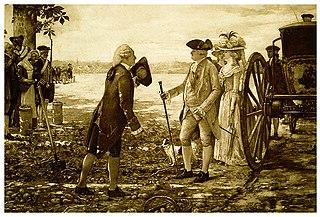 parmentier et Louis XVI sur la plaine des sablons