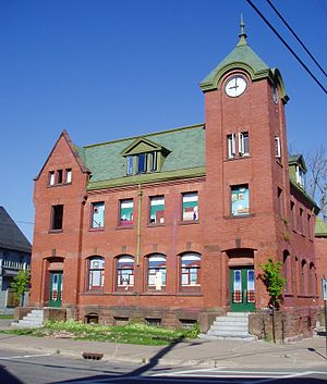 Parrsboro - The former post office, armoury and customs house is being converted into a space for artistic and cultural activities.