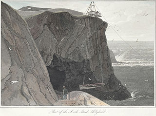 Part of the South Stack Holyhead