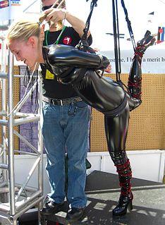 Suspension bondage