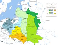 Teilungen Polens (Quelle: Wikimedia)