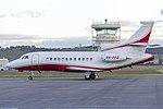 Paspaley Pearl's (VH-PPD) Dassault Falcon 900C at Wagga Wagga Airport 1.jpg