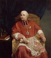 Portrait of cardinal Fesch