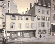 Paul Revere House, Ca. 1898 Photograph