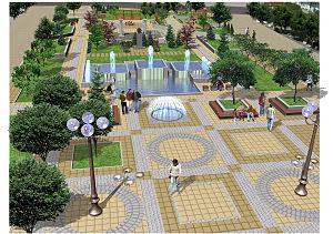 Pavlikeni - Image: Pavlikeni city centre project
