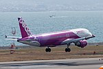 Peach Aviation ,MM24 ,Airbus A320-214 ,JA812P ,Arrived from Taipei ,Kansai Airport (16179746694).jpg