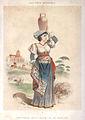 Peasant women from Naples environs - Old print.jpg