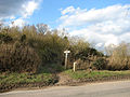Peddars Way crossing lane from Bridgham to Brettenham - geograph.org.uk - 1733804.jpg