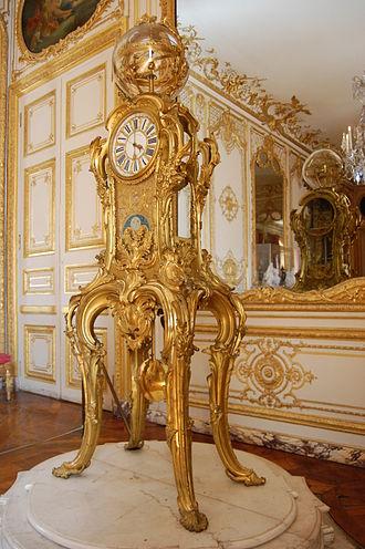 Passemant astronomical clock - Passemant astronomical clock