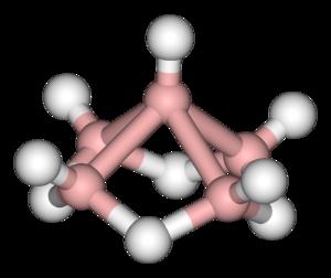 Pentaborane - Image: Pentaborane 3D balls