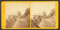 People working in front of Ladies' Reception Hall, from Robert N. Dennis collection of stereoscopic views.png
