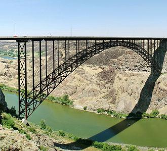 I. B. Perrine - Perrine Bridge over Snake River Canyon