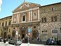 Perugia, chiesa del gesù in piazza matteotti.JPG