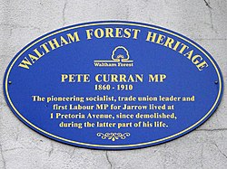 Pete curran (waltham forest heritage)