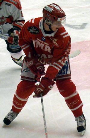 Peter Regin -  Regin with Timrå IK.