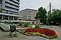 Pforzheim - Brunnen - Rathaus - Stadtbücherei - panoramio.jpg