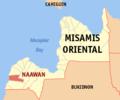 Ph locator misamis oriental naawan.png