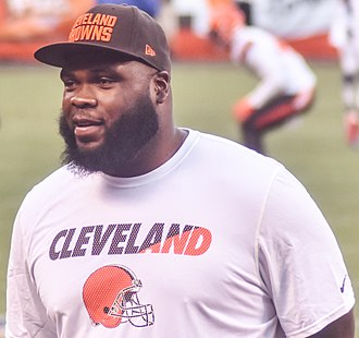 Phil Taylor (American football) - Taylor with the Cleveland Browns in 2015