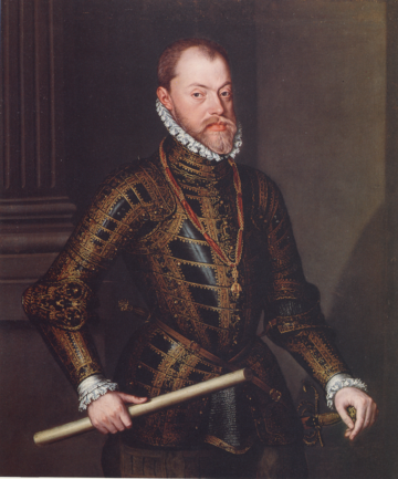 Philip II by Alonso Sánchez Coello