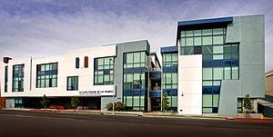 Lycée Français de Los Angeles - Raymond and Esther Kabbaz High School, National Boulevard in Cheviot Hills.