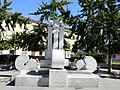 Piazza Gramsci.la Fontana dei Tre Orologi.jpg