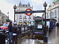Piccadilly Circus stn north entrance.JPG