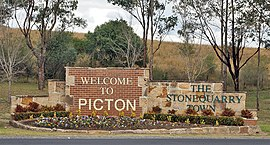 Picton Town Sign