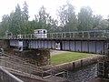 Pieksämäki–Joensuu railway crossing Taipale Canal.jpg