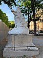 Pierre Dupont et sa muse - jardin de la préfecture du Rhône (Lyon).jpg