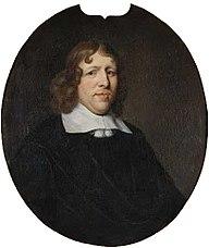 Ovaal portret van Jacob Sonmans (?-1661)