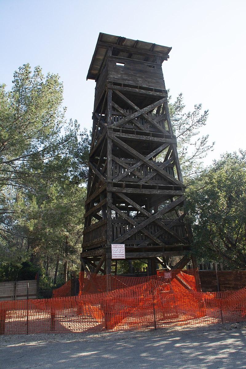 המגדל בקיבוץ חניתה