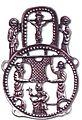 Pilgerzeichen Nachguss 1979.jpg
