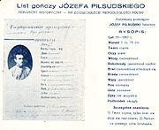 Pilsudski wanted