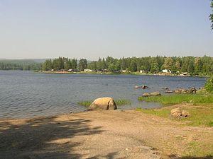 Mattawa River - Pimisi Lake on the Mattawa River.