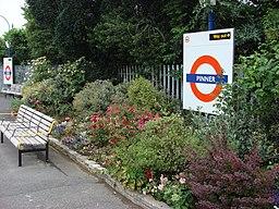 Pinner tube flowerbeds 2