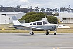 Piper PA-28R-200 Cherokee Arrow II (VH-HJX) at Wagga Wagga Airport.jpg
