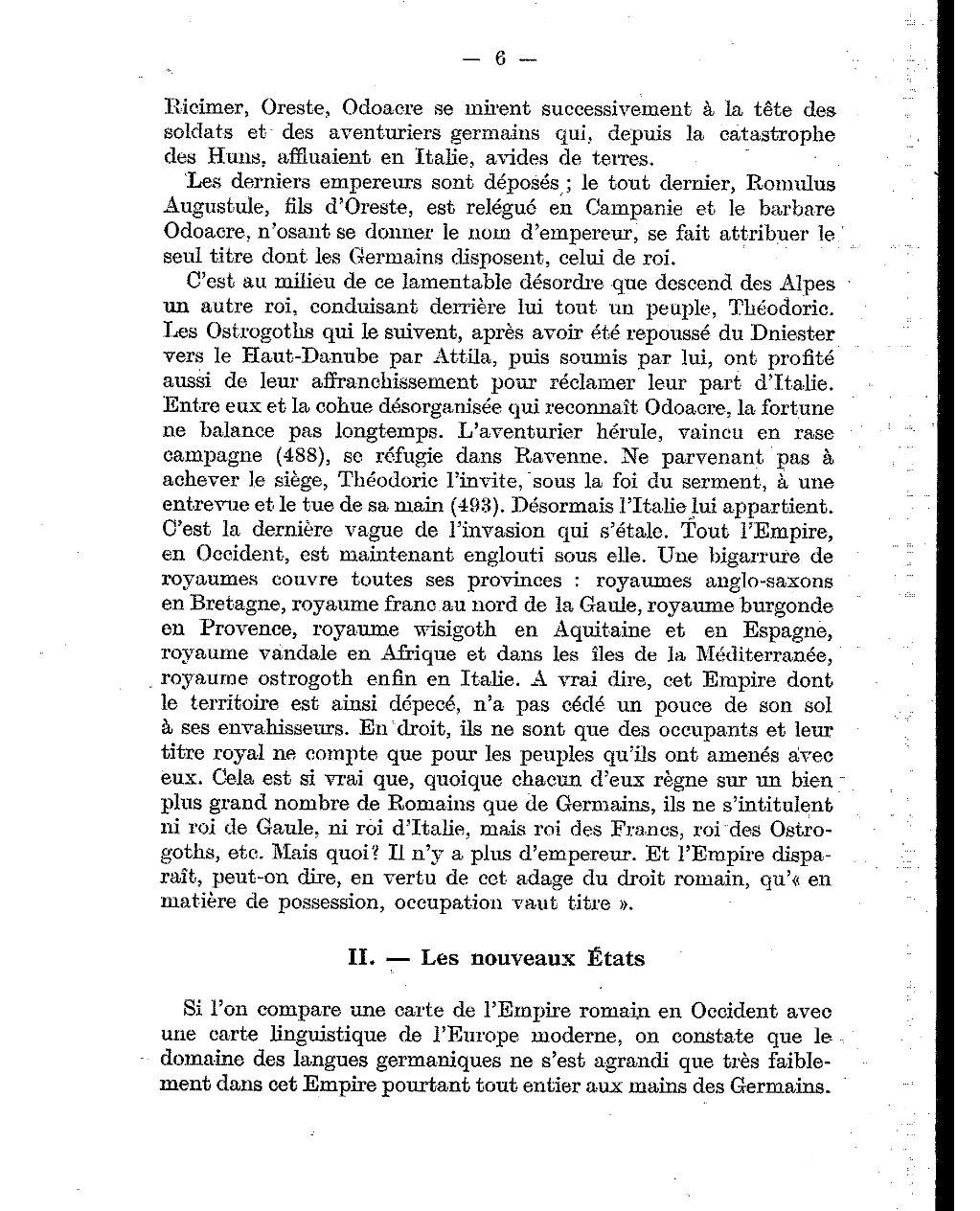 Page pirenne histoire de l europe des invasions au xvie - En fait de meuble possession vaut titre ...
