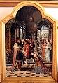 Pittore di anversa, trittico con storie di ester, assuero, adamo ed eva, 1520 ca. 03.jpg