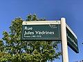 Plaque Rue Jules Védrines - Noisy-le-Grand (FR93) - 2021-04-24 - 2.jpg