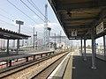 Platform of Chikugo-Funagoya Station (Kagoshima Main Line) 6.jpg