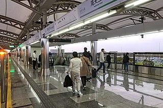 Haitiansan Road station Shanghai Metro station