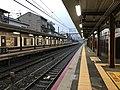 Platform of Uzumasa Station 9.jpg