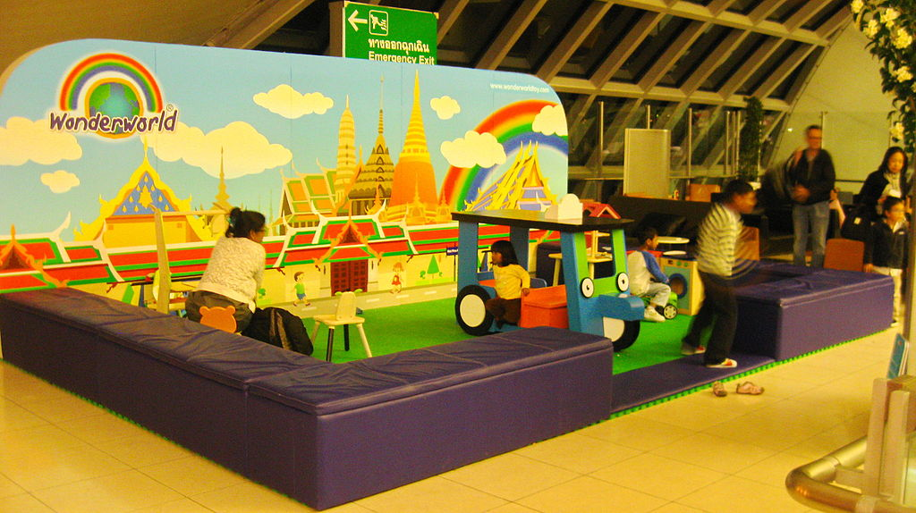 File Play Area At Suvarnabhumi Intl Airport Bangkok Jpg
