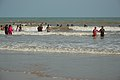 Playful People with Sea Waves - New Digha Beach - East Midnapore 2015-05-01 8701.JPG
