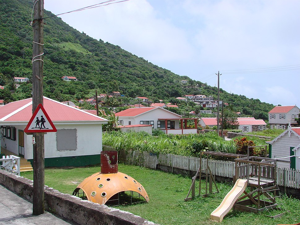 Playground on Saba