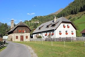Pocherhaus mit Stämpfe und Mühle in Oberdorf